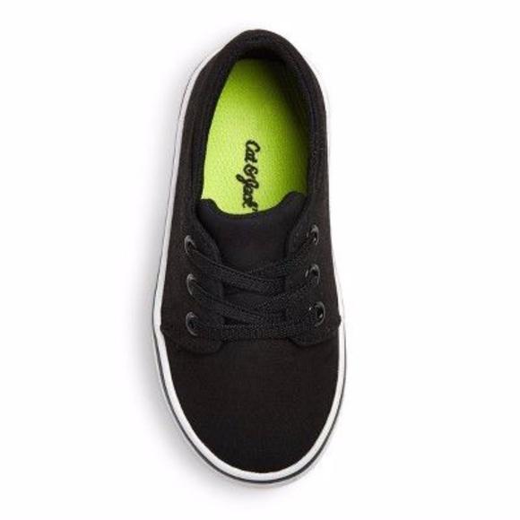 Toddler Boy Cat & Jack Black Tennis Shoes